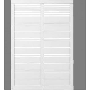 Silence hegn i hvid 120x170cm (BxH)