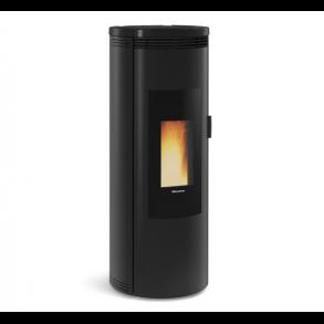 Amika pillebrændeovn på 8kW i sort (150m2)