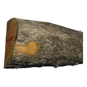 Akacie/robinie træ ½ Ø14-16 x 220 cm