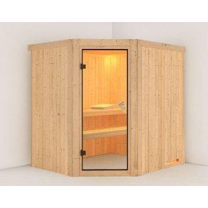 Sauna Lilja 196x170x198cm BxLxH (plug and play sauna)
