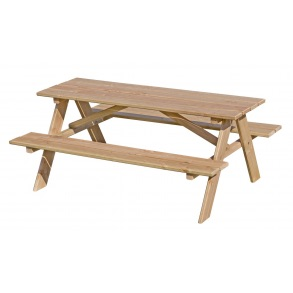 Børne bord/bænkesæt i lærk
