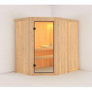 Sauna Carin 195x152x198cm BxLxH