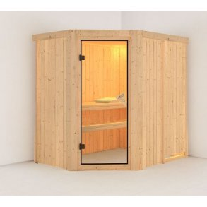 Sauna Saja 195x152x198cm BxLxH (plug and play sauna)