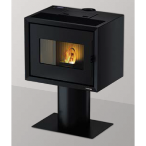 Modo Airtight Stand pillebrændeovn på op til 9kW i sort (150m2)