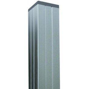 Aluminium stolpe 70x70mm i længde 181cm (4i1 stolpe)