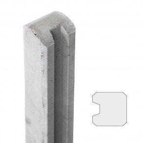 13x13 cm endestolpe 210 cm over jord