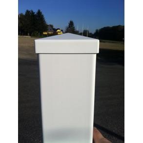 PVC Stolpe i 10x10cm i 190cm højde