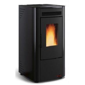 Ketty pillebrændeovn på 6kW i sort (120m2)
