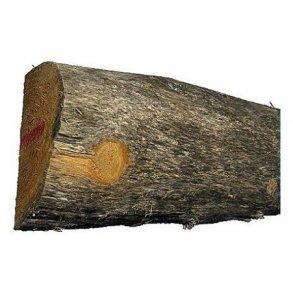 Akacie/robinie træ ½ Ø10-12 x 180 cm